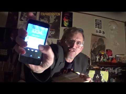 "B-""Monster"" Moviemaker David ROCK Nelson gets ""RONDO"" Hatton sculpture! 11-16-'17!"