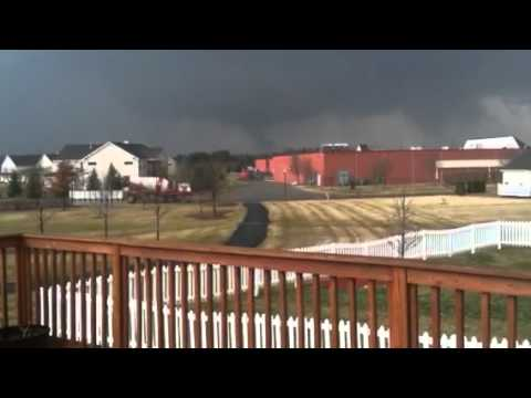 Tornado In Dexter, Michigan