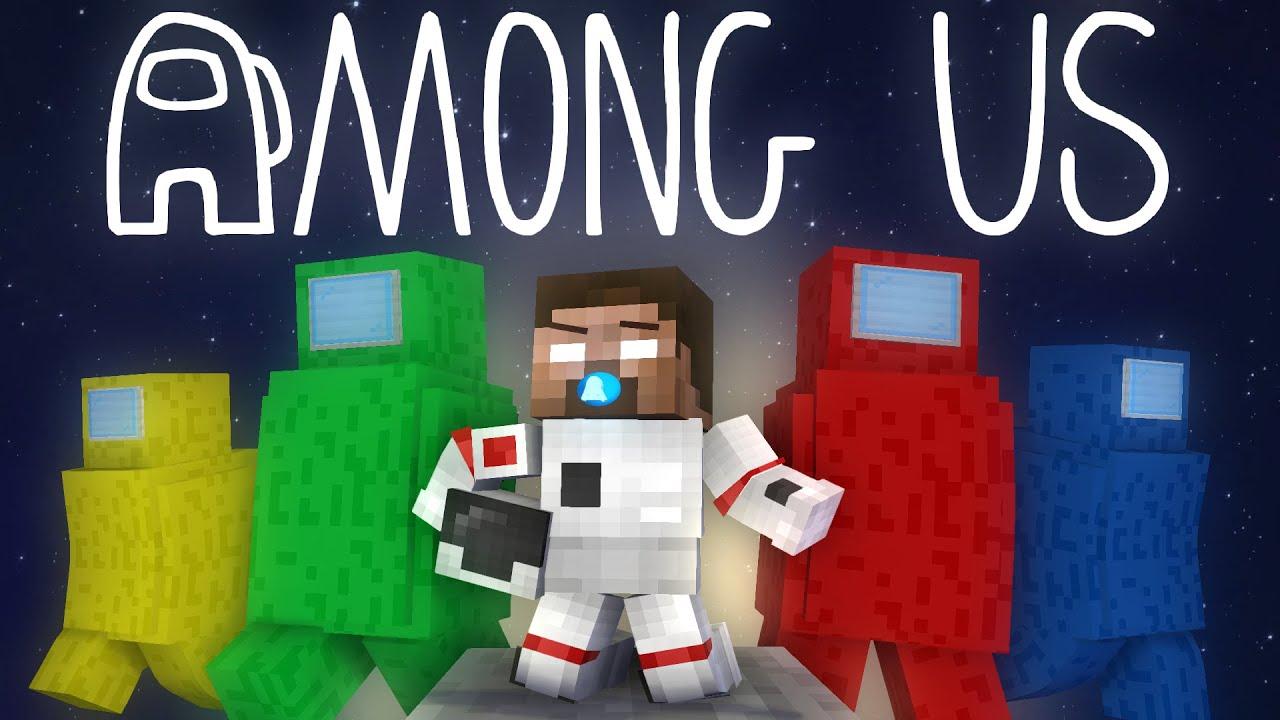 Monster School: Among Us VS Baby Herobrine - Minecraft Animation