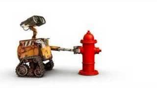 WALL•E Meets a Fire Hydrant Vignette