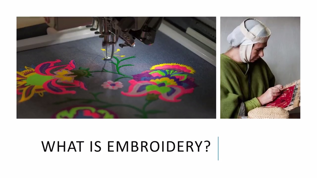 What is Embroidery  - YouTube 957eb390310e