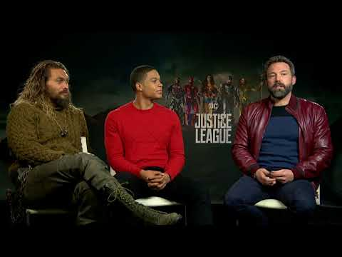Ben Affleck, Jason Momoa Ray Fisher Justice League