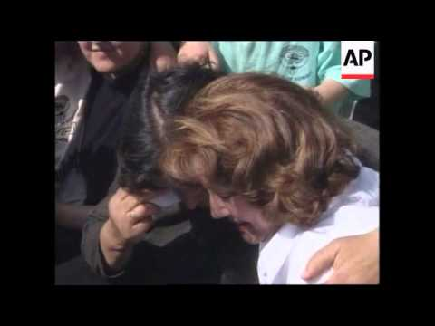 MACEDONIA: ELIZABETH DOLE VISITS REFUGEE CAMP