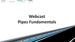 Civil Site Design - Webcast - Pipes Fundamentals