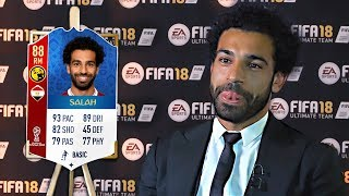 10 Footballers ANGRY at their *NEW* FIFA 18 Ratings! (ft Salah & Ronaldo)