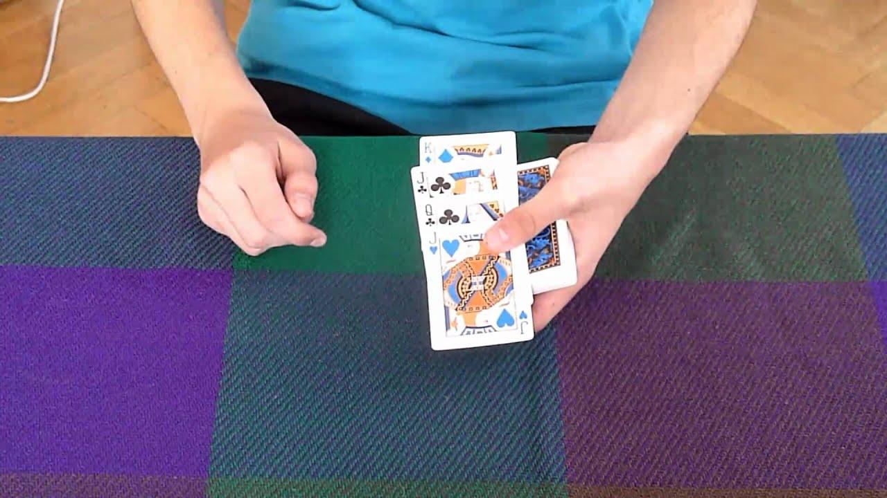 Kartentrick Erklärung