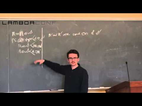 LambdaConf 2015 - Type Theory and its Meaning Explanations   Jon Sterling
