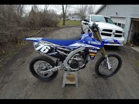 Installing New Graphics On 2017 YZ250F