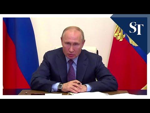 Russia's Vladimir Putin declares Arctic fuel spill state of