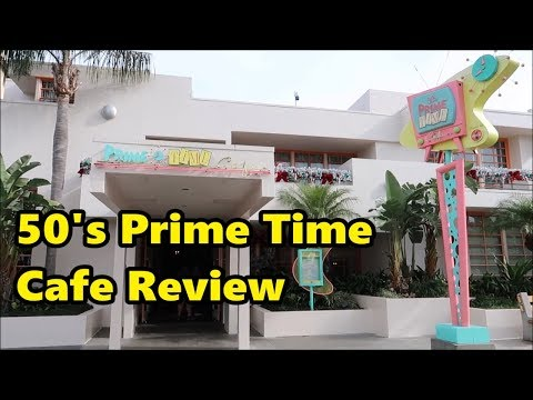 50's Prime Time Cafe Review | Hollywood Studios | Walt Disney World