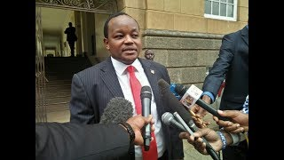 Nyeri Town MP Ngunjiri Wambugu maintains that William Ruto is not assured of Central Kenya support