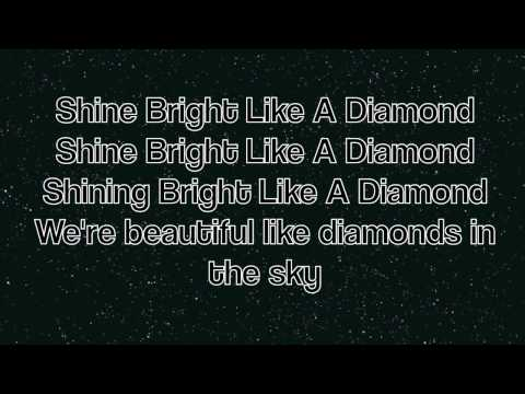 Rihanna - Diamonds [LYRICS]