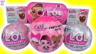LOL Surprise DOLLS Under Wraps WAVE 2 Finders Keepers Eggs Glam Glitter Bling Series Unboxing TOYS