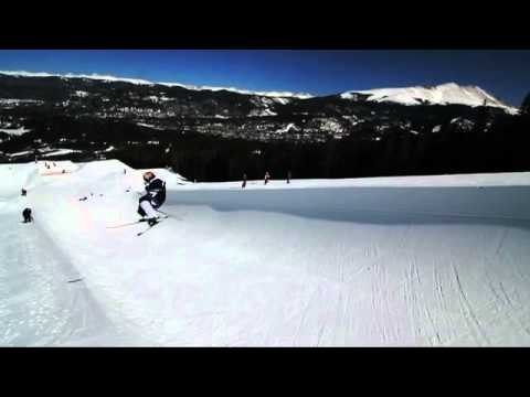 Simon Dumont and Justin Dorey Halfpipe @ Breckenridge (I'm God by Clams Casino)