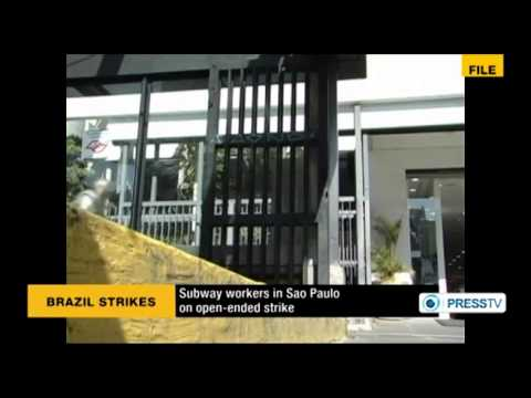 Sao Paulo subway workers plan strike ahead of World Cup