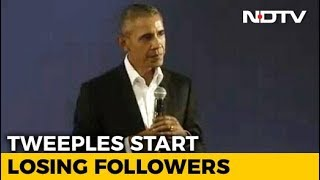 Barack Obama Lost 400,000 Followers On Twitter, Trump 100,000. Here's Why thumbnail
