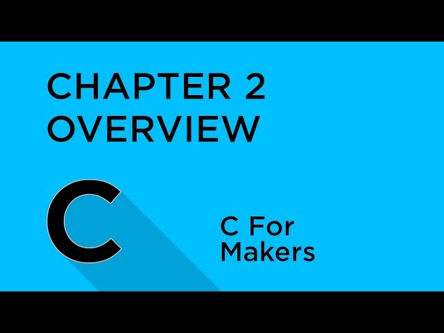 C Programming for Makers - Tutorial Australia