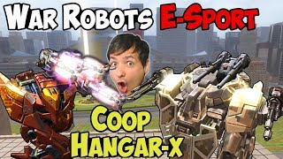 War Robots E-Sport Coop Hangar X Gameplay #3 Shocktrain Bulgasari