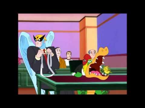 Harvey Birdman - Wally Gator in Court