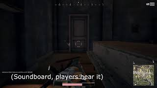pubg with soundboard 3 - Sorry for trump