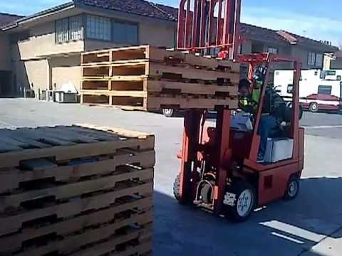 free forklift certification stacking video - YouTube