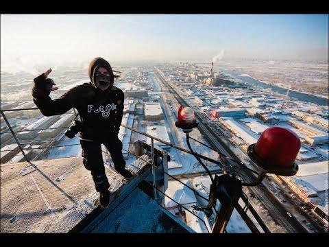 ЧАСТЬ 2Сборка опасных трюков на большой высоте ЭЙФЕЛЕВА БАШНЯ!!