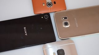 Confronto TOP ANDROID 2015   Samsung S6   HTC M9   LG G4   Sony Z3+