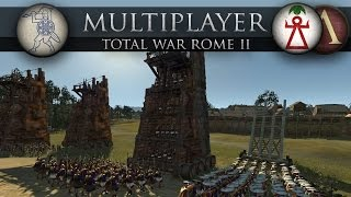 The Pirates\' Stronghold (Total War: Rome 2 Battle #178)
