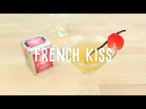 Recette French Kiss - Cocktail au thé sans alcool