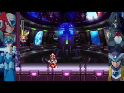 Mega Man X Legacy Collection 2 Megaman X6 Gameplay (Zero)  