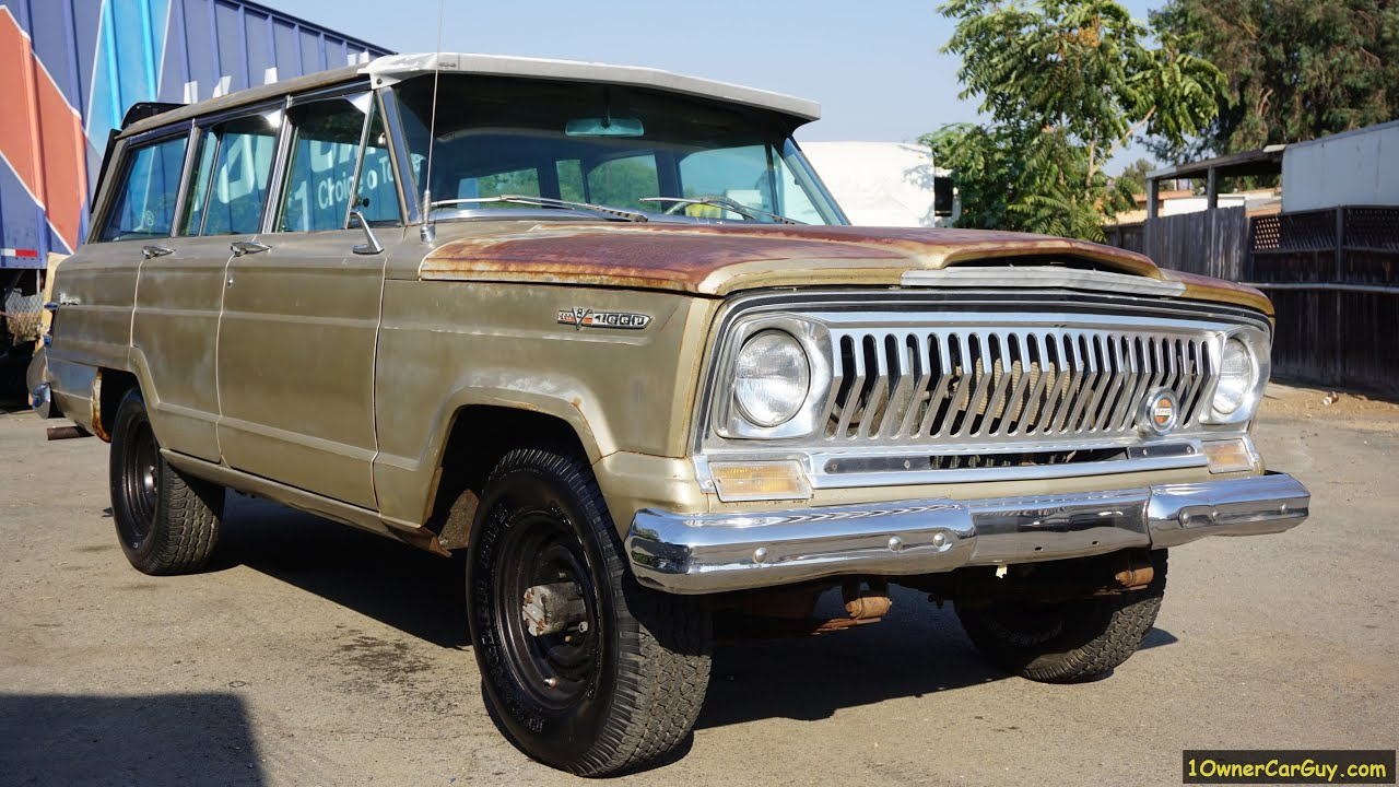 Jeep Wagoneer For Sale >> Jeep SJ Patina Paint Project 1967 Wagoneer 4x4 Classic SUV