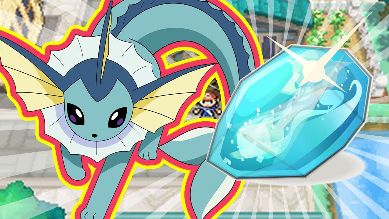All Evolution Pokemon by WATER STONE | Pokemon BLACK 2 ...
