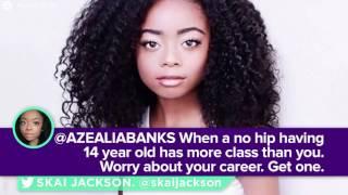 azealia banks shut down by skai jackson