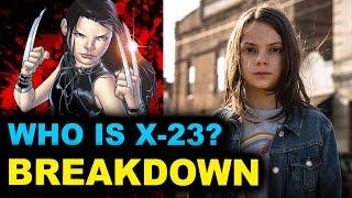 Logan 2017 X-23 - Beyond The Trailer