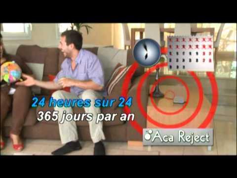 anti acariens aca reject youtube. Black Bedroom Furniture Sets. Home Design Ideas