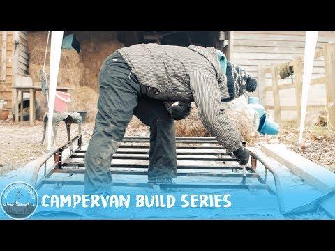 Day 9 - Rhino Roof Rack #VanLife VW T5 Camper Conversion