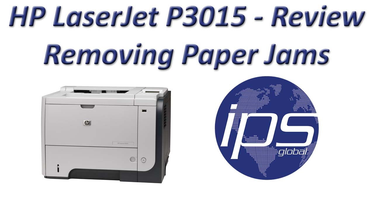 hp laserjet p3015 review removing paper jams youtube rh youtube com hp laserjet p3015 manual feed hp p3015 manually feed output stack
