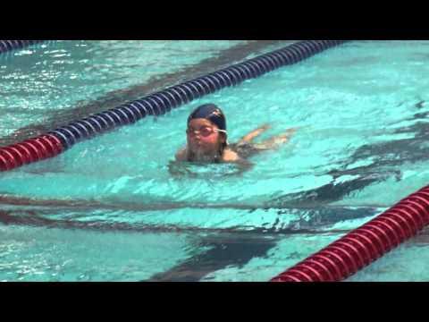 4才100m個人メドレーとクロール50m水泳大会