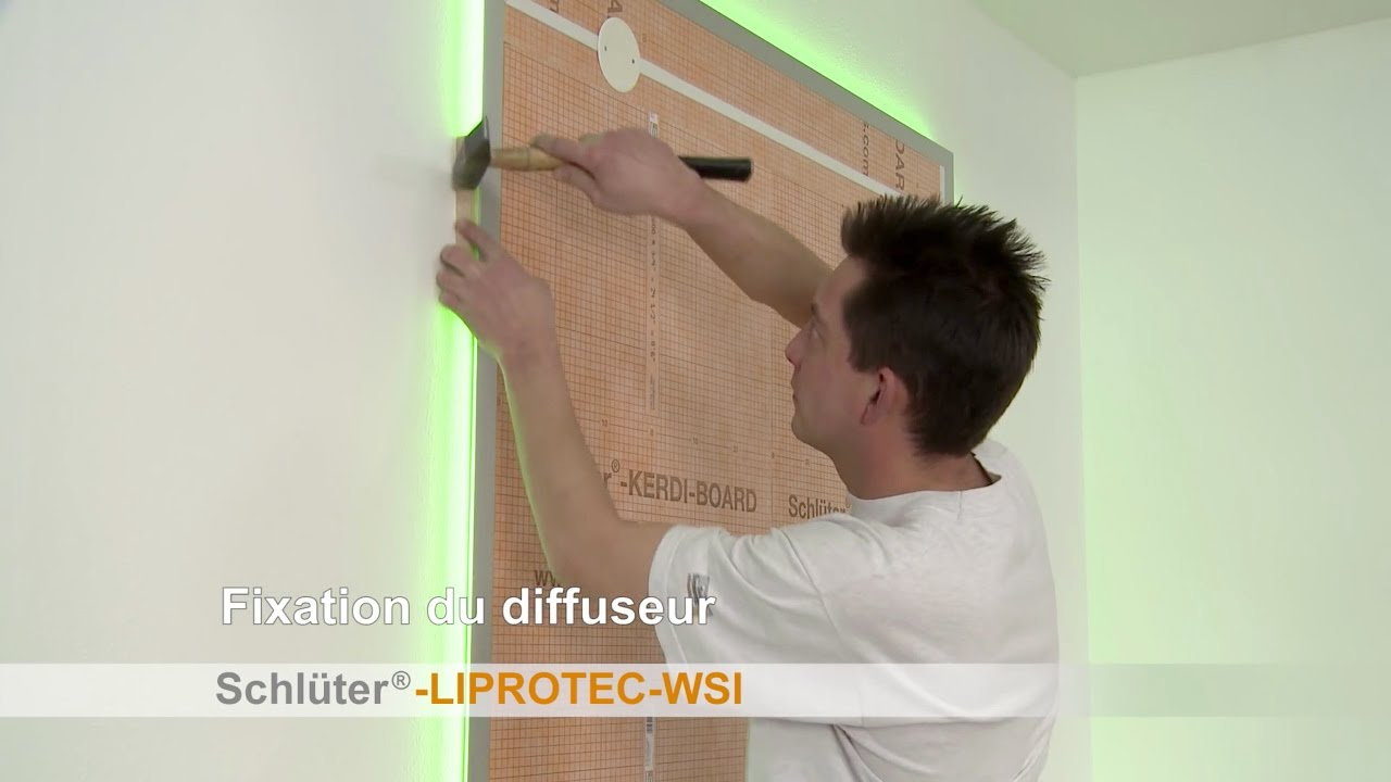 Comment Installer Un Miroir Mural Avec Eclairage A Led Youtube