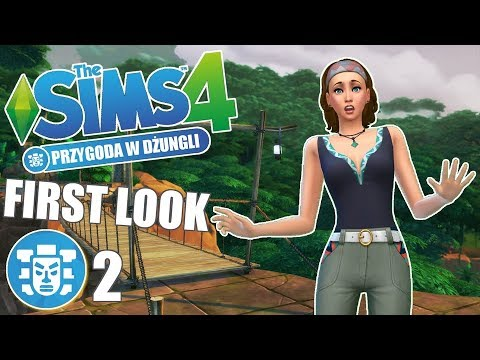 ⭐️ First Look: THE SIMS 4: PRZYGODA W DŻUNGLI #2 SELVADORADA