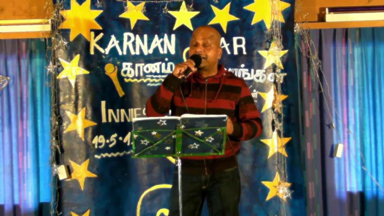Ilamaiyenum poongaatru tamil karaoke pagalil oru nilavu by.