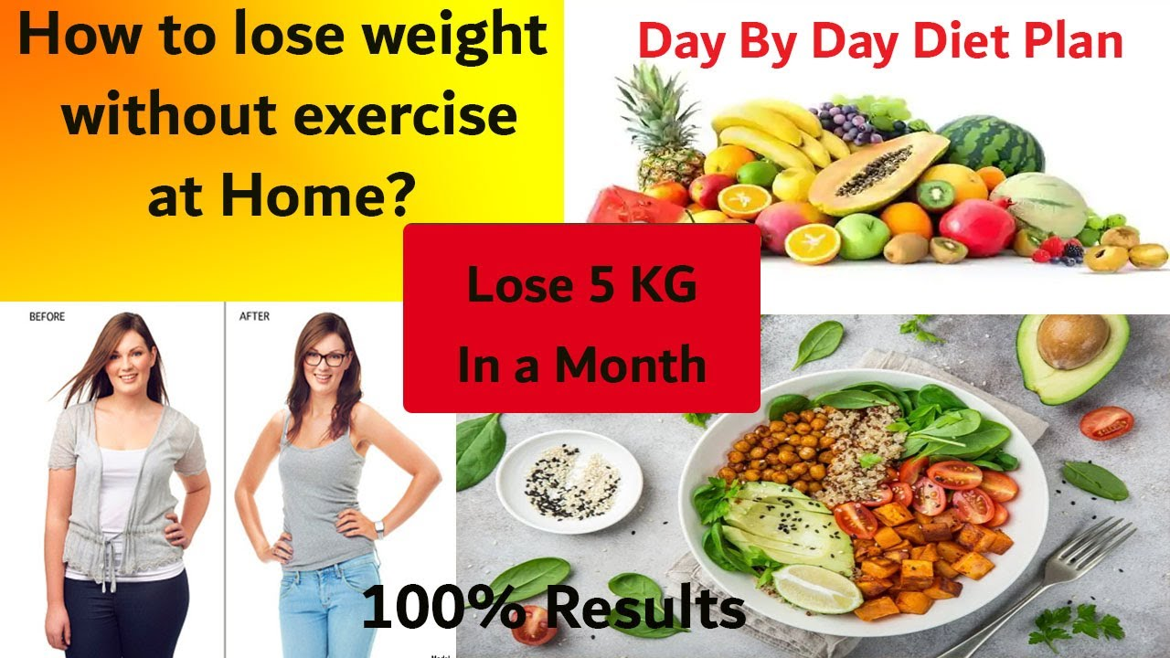 How to lose weight without exercise - PCOS Diet Plan Day ...