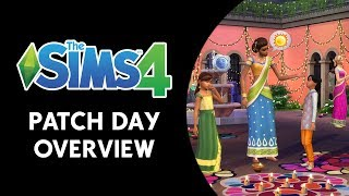 The Sims 4: Patch Day Overview (NEW HOLIDAY STUFF!)