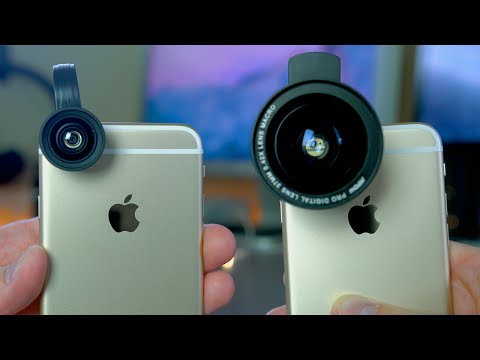Best Smartphone Lens Kits Under $30