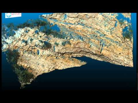 Laser scanner 3D - Discontinuity Analysis for rock engineering