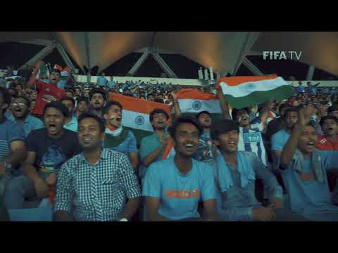 What an atmosphere! India fans in New Delhi