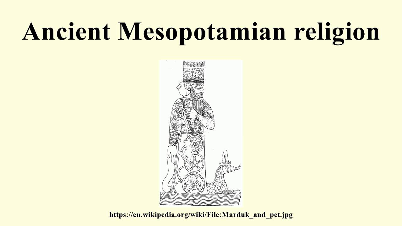 the ancient mesopotamian In which john presents mesopotamia, and the early civilizations that arose around the fertile crescent topics covered include the birth of territorial kingd.