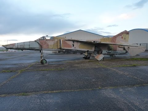abandoned aircraft in the uk      Russian mig 27