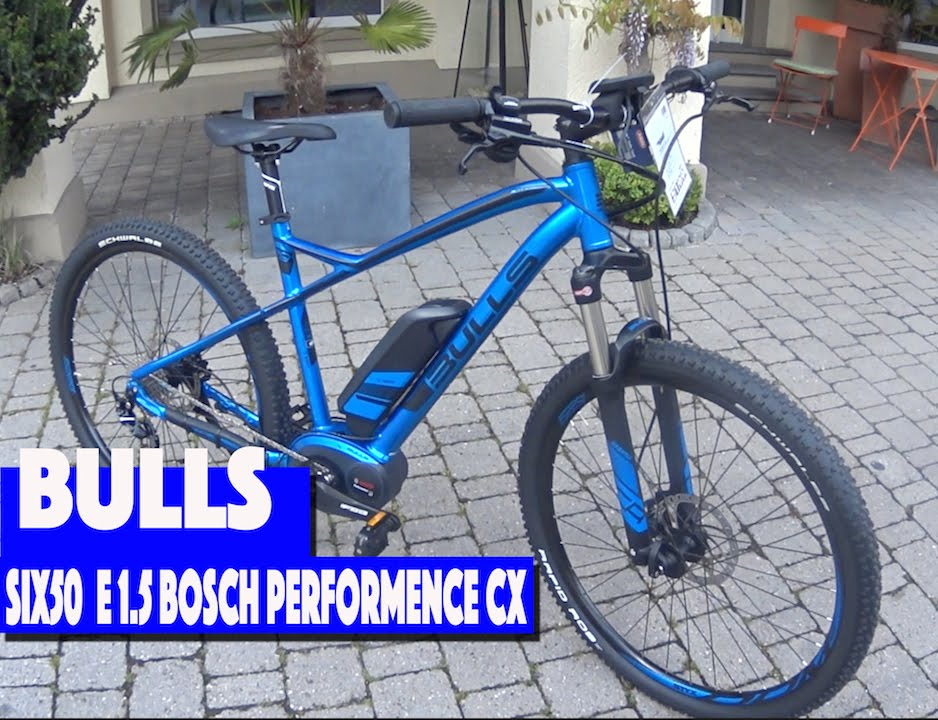 68b0223e2af Bulls Six 50 E-1.5 Ebike Bosch performence Best Ebike 2016 - YouTube