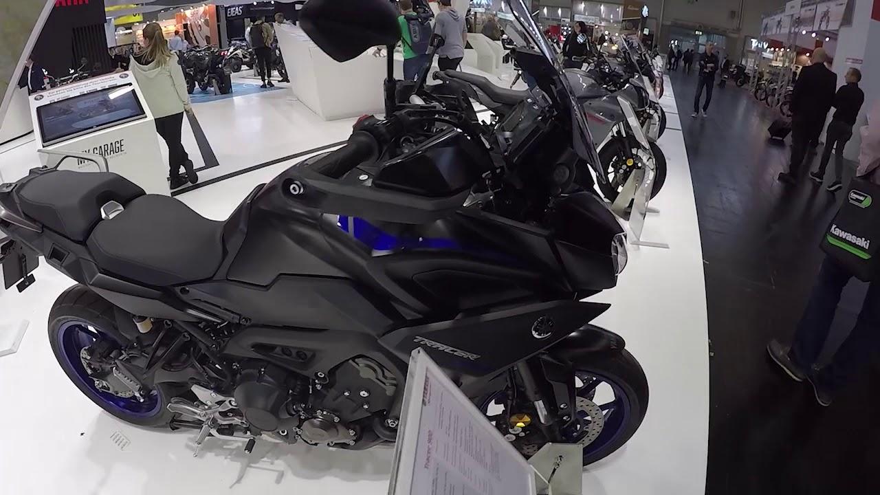 HANLING Motociclo Accessori Piccolo Parabrezza for Yamaha MT-09-FZ 09 2017 2018 2019 Color : Titanium